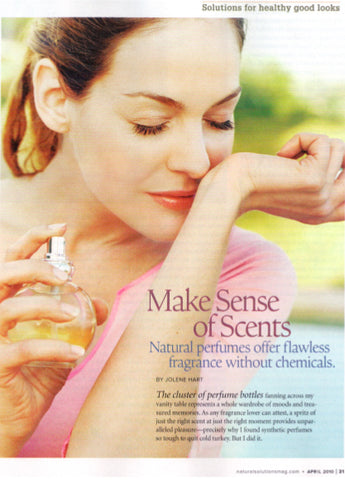 Natural Solutions Magazine Make Sense of Scents