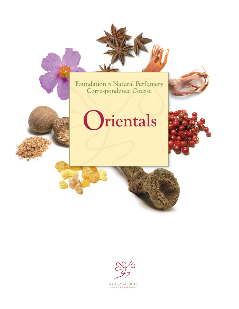 Natural Perfumery Course - Week 4: Orientals (Fall 2019)