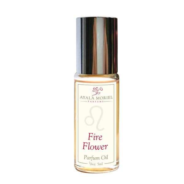 Fire Flower (Leo Zodiac Perfume Oil)