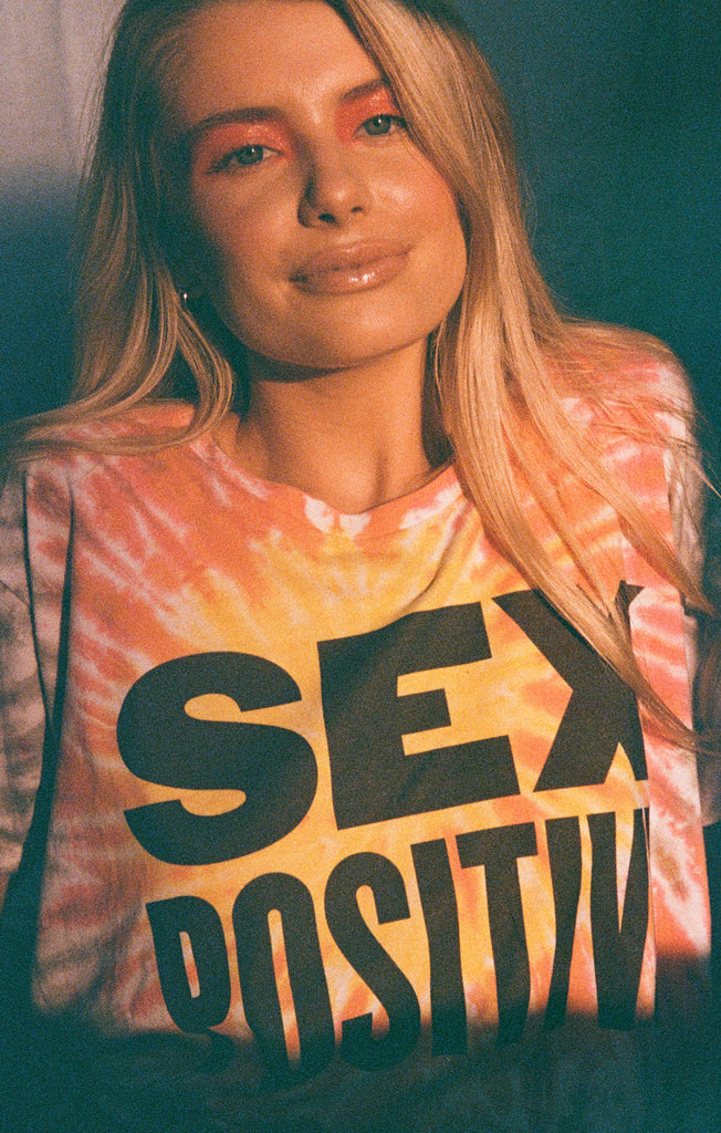 Sex Positive Flowy Tee by The Laundry Room