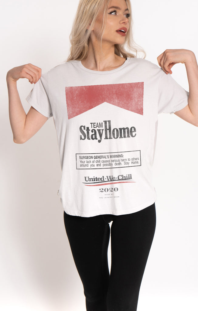 MEMBERS ONLY: Team Stay Home Tee by The Laundry Room