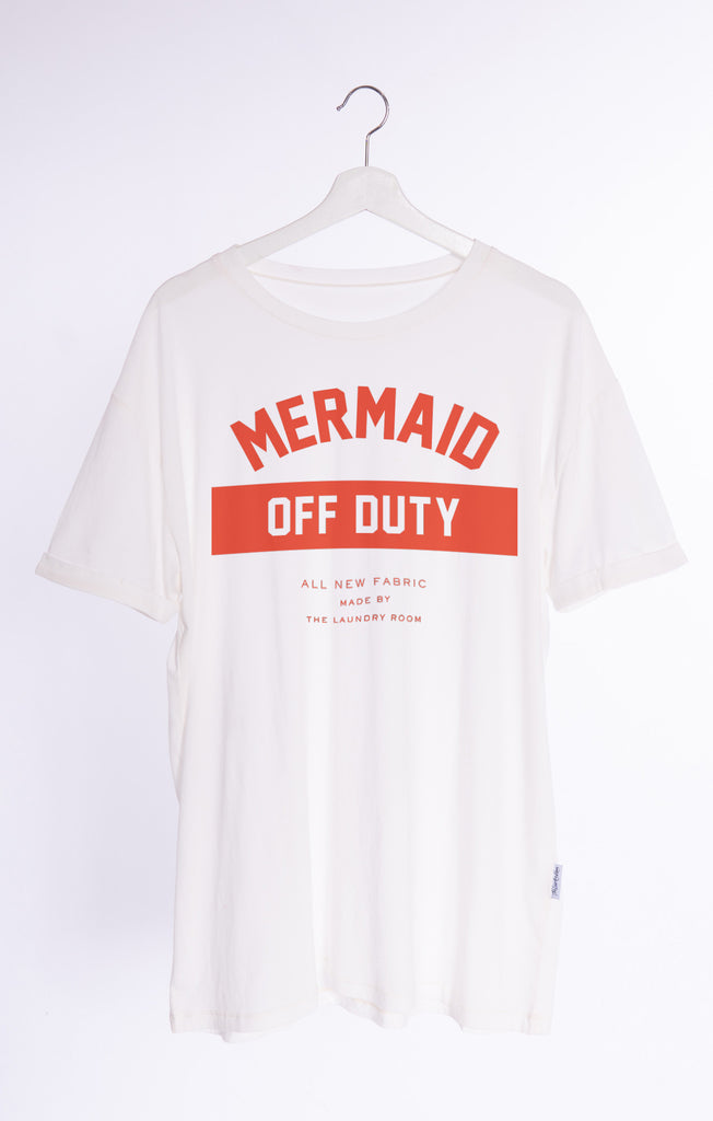 Mermaid Off Duty Oversized Tee by The Laundry Room