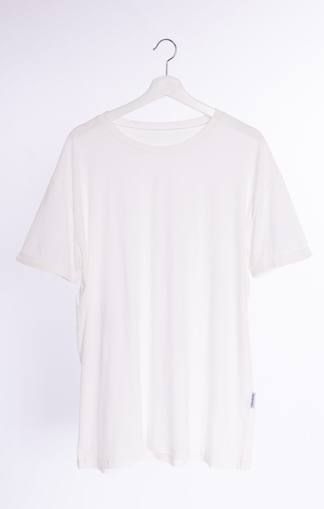 Bleach White - Oversized Tee by The Laundry Room