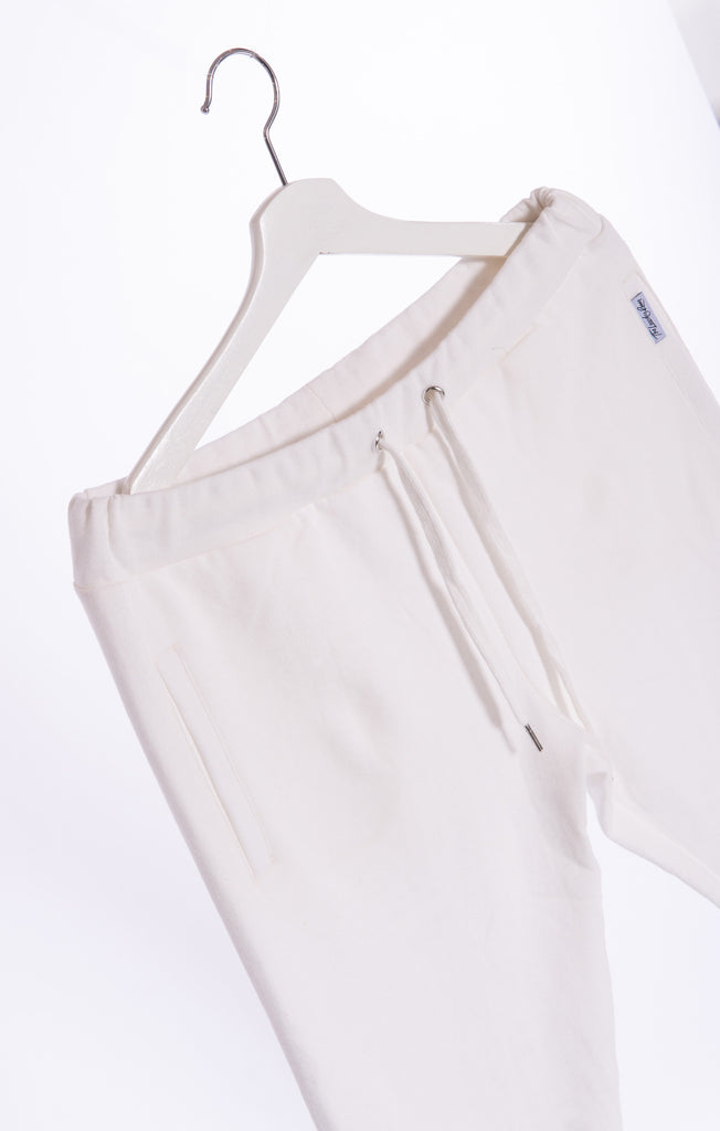 White - Stirrup Pants by The Laundry Room