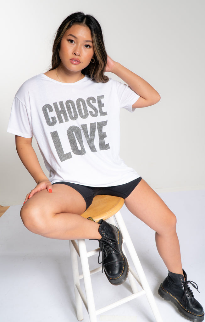 Choose Love Classic Tee - The Laundry Room