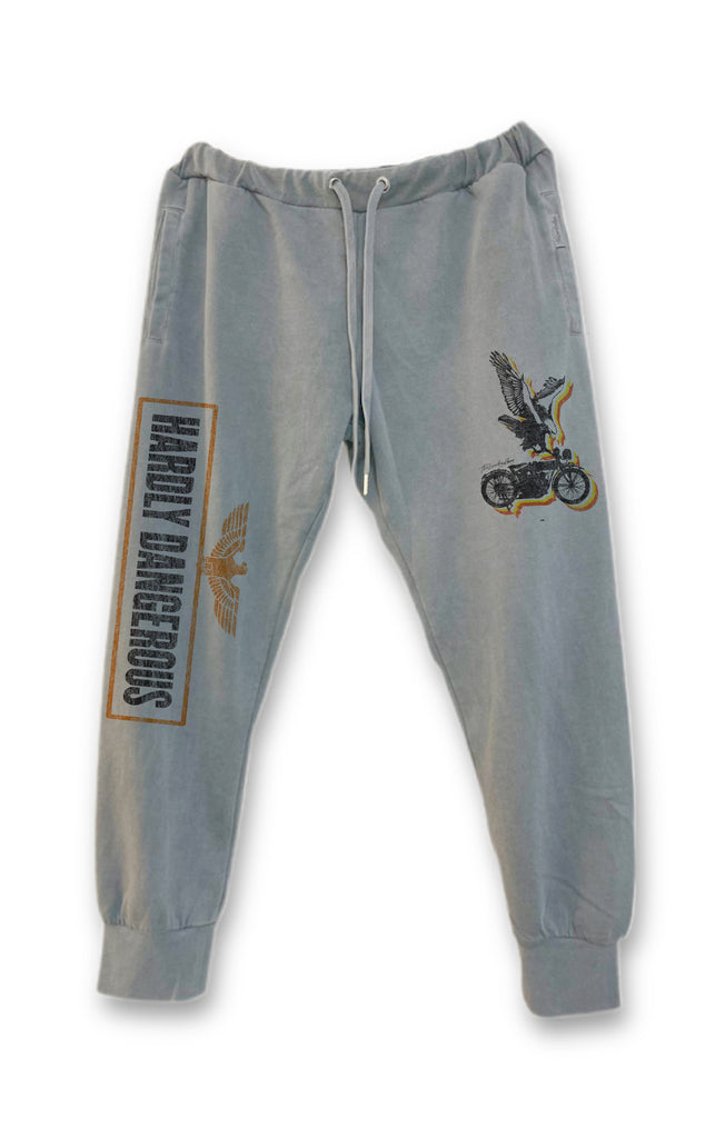 Hardly Dangerous Stirrup Pants - Gravity Grey - The Laundry Room