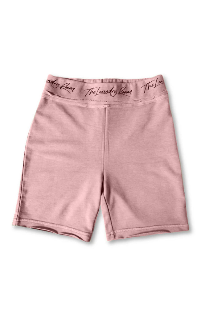 Runyon Biker Short - Blush Pink - The Laundry Room