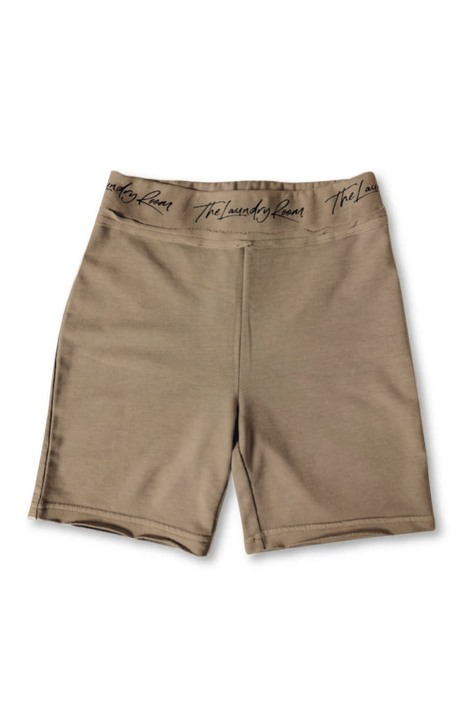 Runyon Biker Short - Camel Gold - The Laundry Room