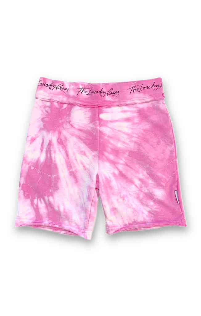Runyon Biker Short - Neon Flamingo - The Laundry Room