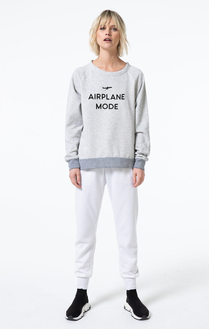 Airplane Mode Cozy Pullover