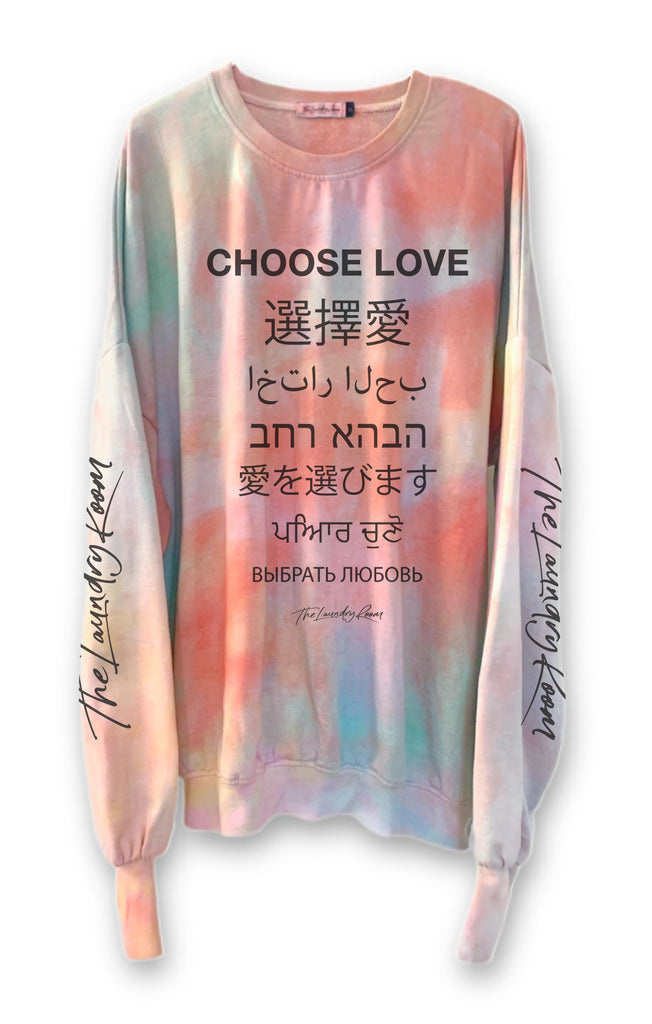 Choose Love Jump Jumper - Warhol Dye - The Laundry Room