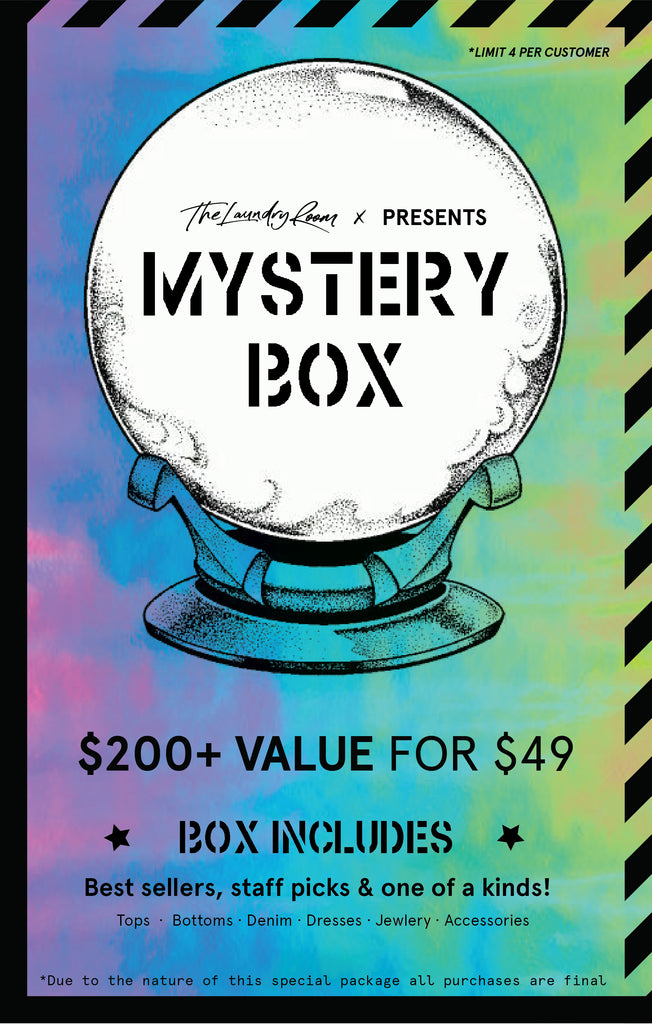 $49 Psychedelic Mystery Box by The Laundry Room