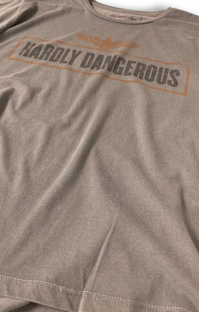 Hardly Dangerous Classic Tee - Galaxy Grey by The Laundry Room