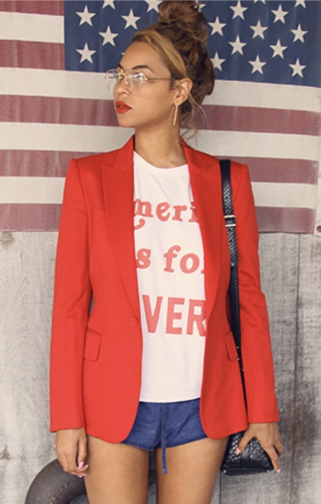 America Is For Lovers Classic Tee by The Laundry Room