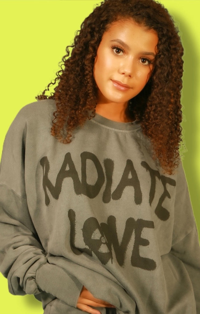 Radiate Love Jump Jumper - Galaxy Grey by The Laundry Room