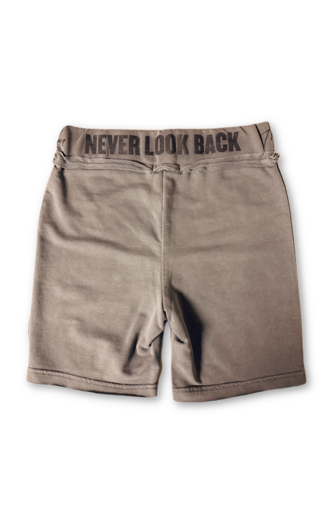 Runyon Biker Shorts - Galaxy Grey by The Laundry Room