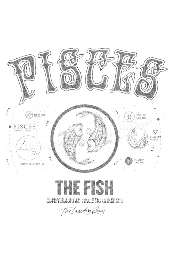 Pisces Classic Tee by The Laundry Room