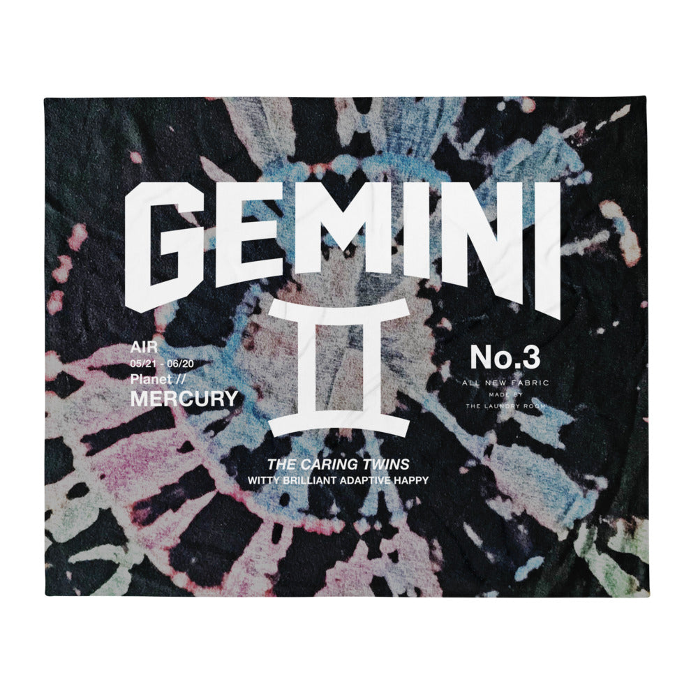 Gemini Galaxy - Blanket by The Laundry Room