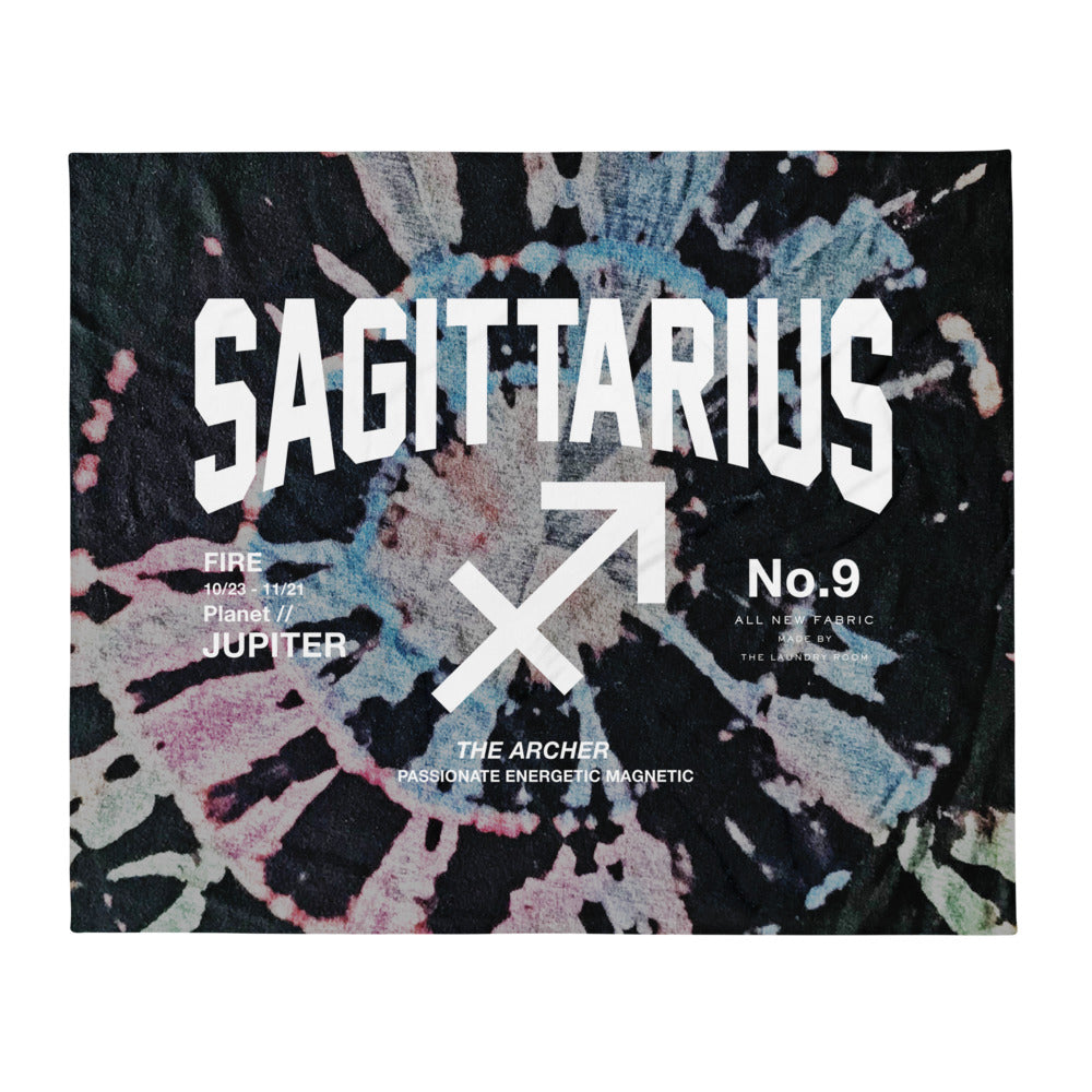 Sagittarius Galaxy - Blanket by The Laundry Room