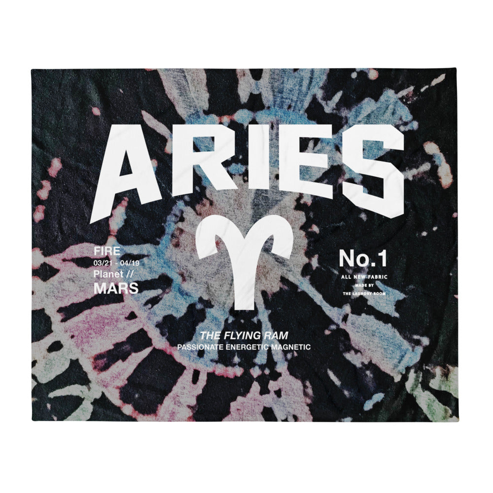 Aries Galaxy - Blanket by The Laundry Room