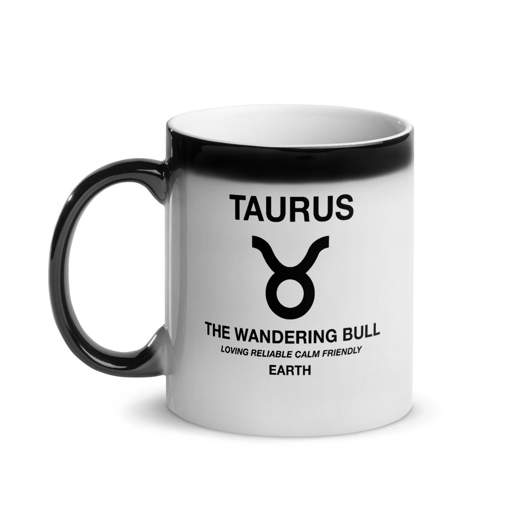 Taurus - Heat Changing Magic Mug by The Laundry Room