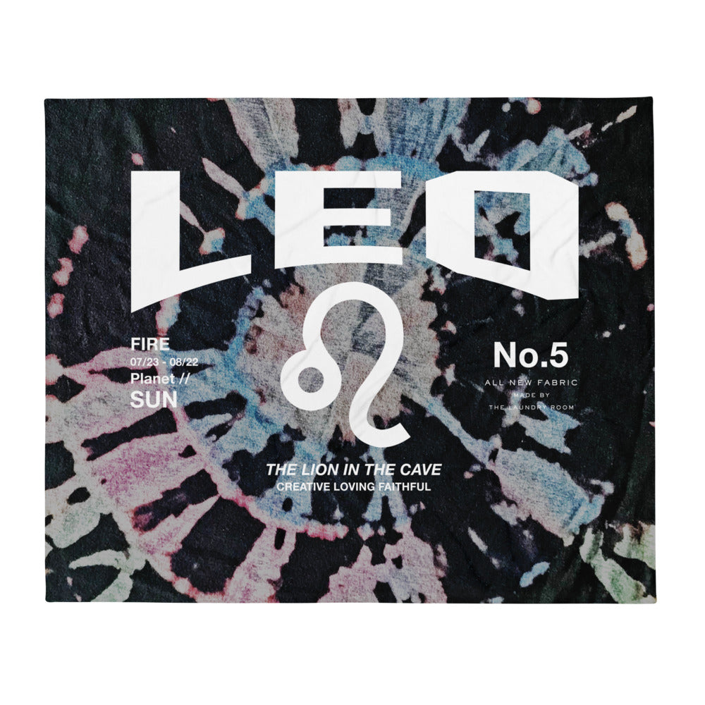 Leo Galaxy - Blanket by The Laundry Room