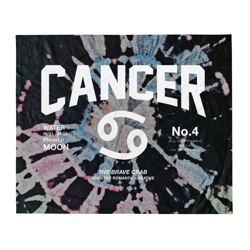 Cancer Galaxy - Blanket by The Laundry Room
