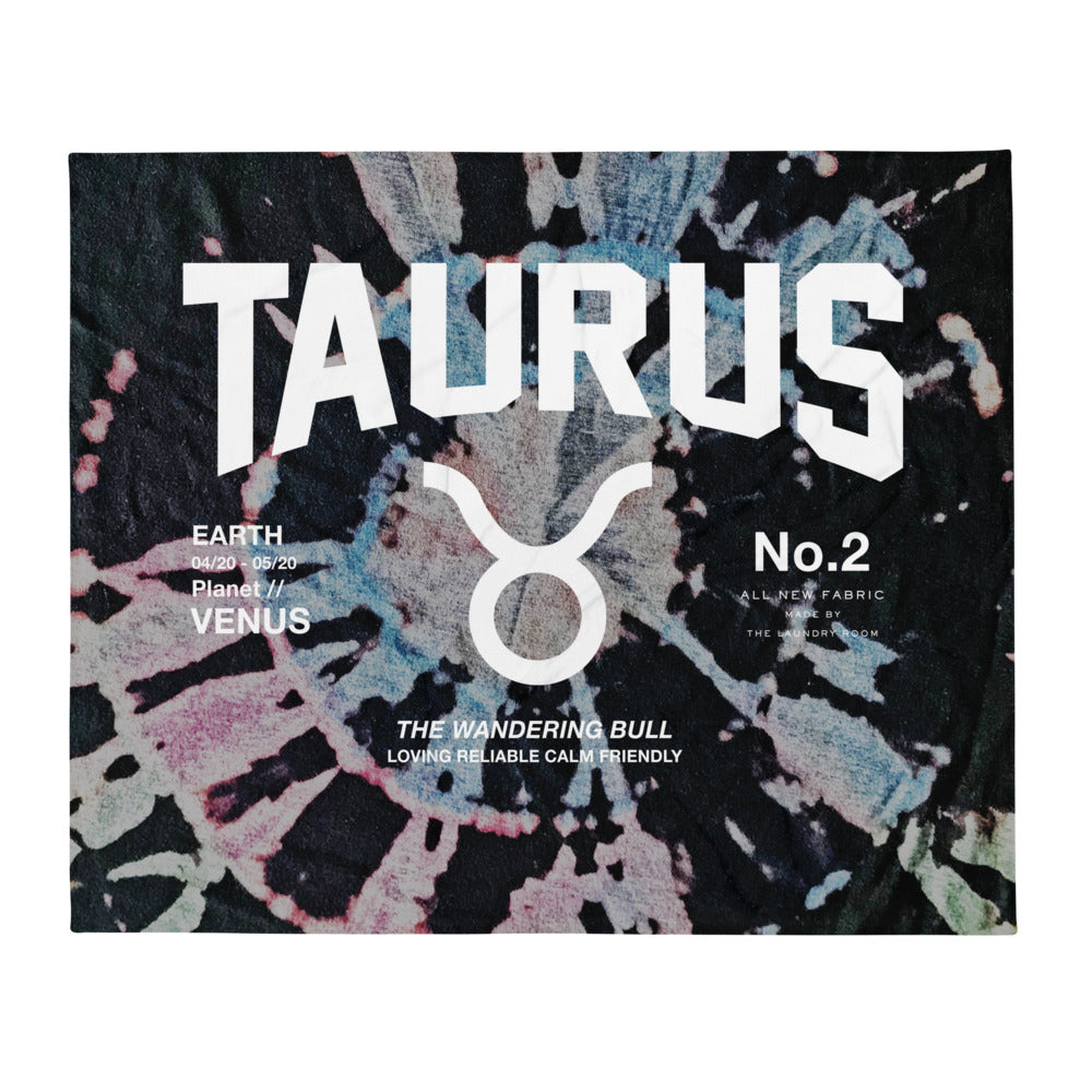 Taurus Galaxy - Blanket by The Laundry Room