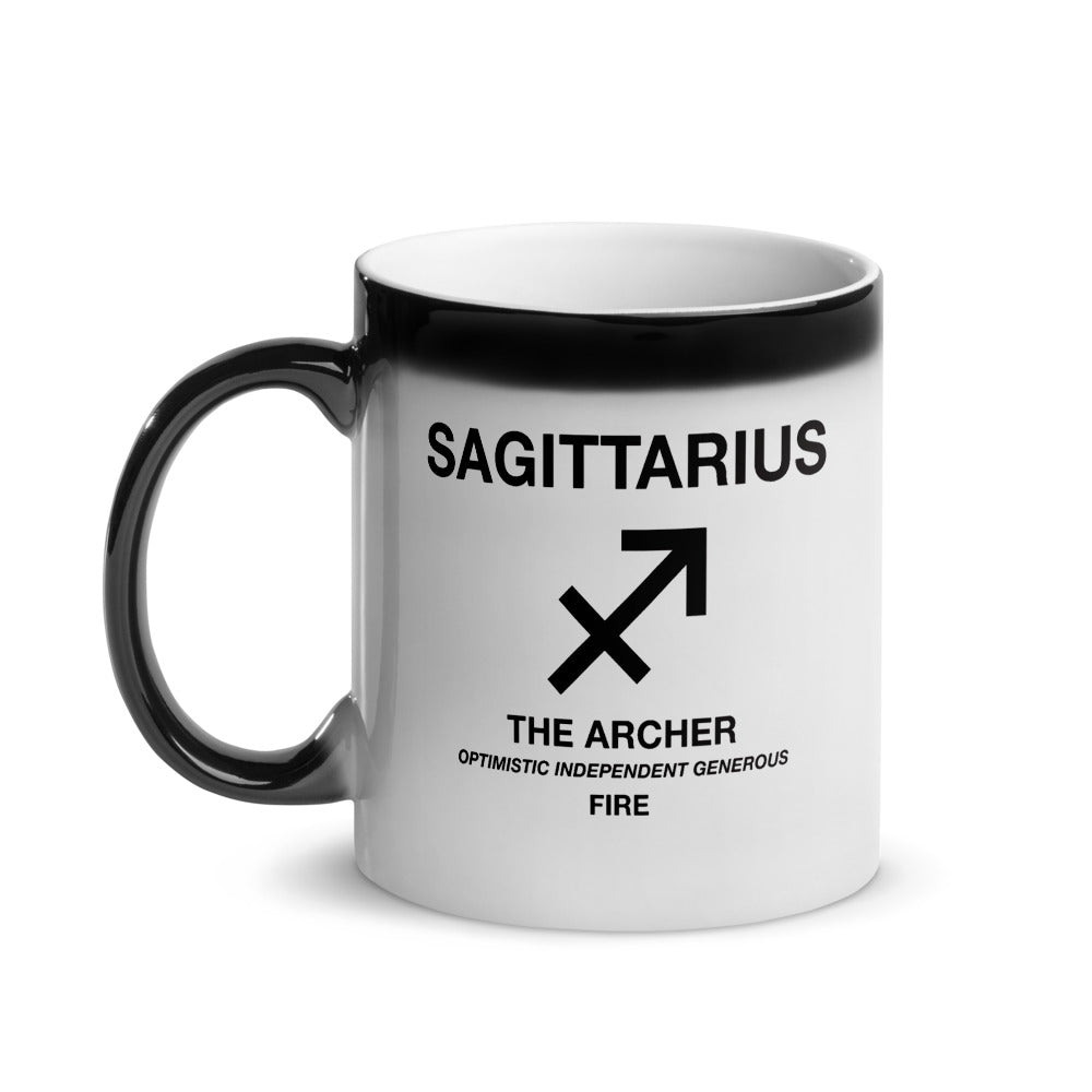Sagittarius - Heat Changing Magic Mug by The Laundry Room