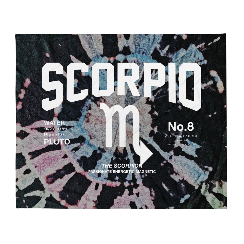 Scorpio Galaxy - Blanket by The Laundry Room