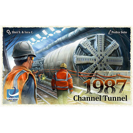 1987. Channel Tunnel