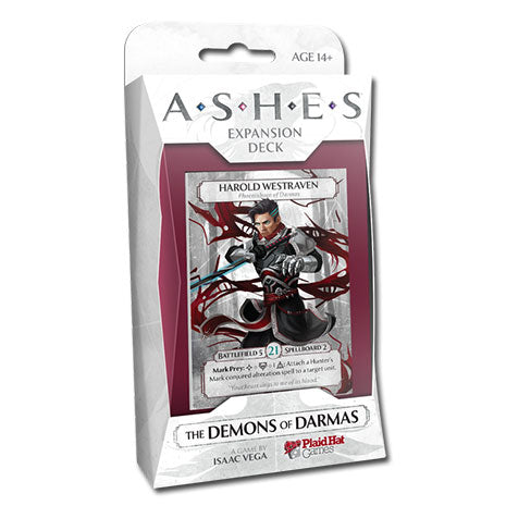 Ashes. The Demons of Darmas (Inglés)