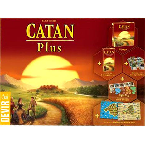 Catan Plus. Edición 2019