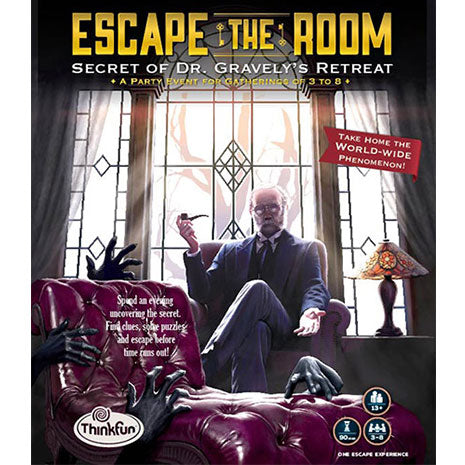 Escape the Room. El Secreto del Dr. Gravely