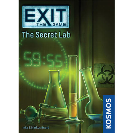 EXIT. El Laboratorio Secreto