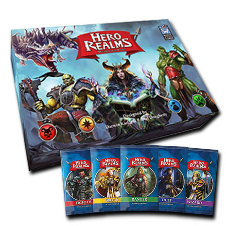 Hero Realms + Set Packs de Personaje