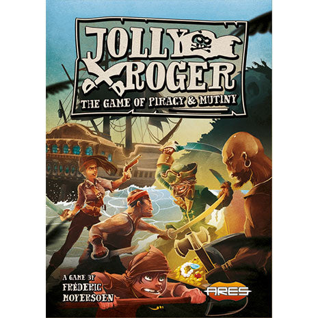 Jolly Roger. The game of Piracy & Mutiny