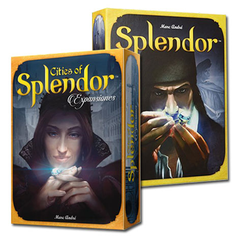 Splendor + Cities of Splendor