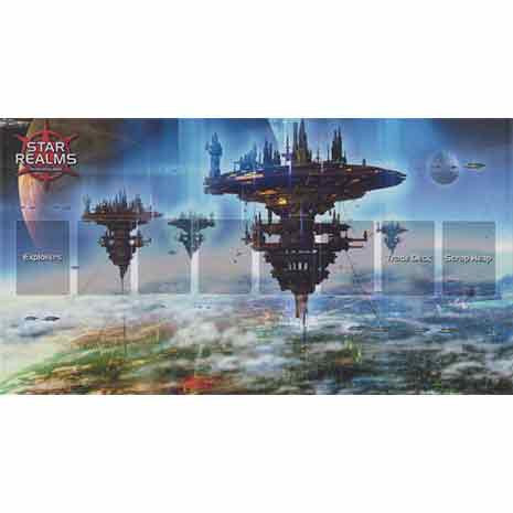 Star Realms Capitol World Playmat