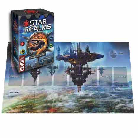 Star Realms + Capitol World Playmat