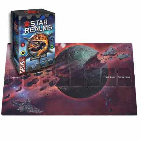Star Realms + Death World Playmat
