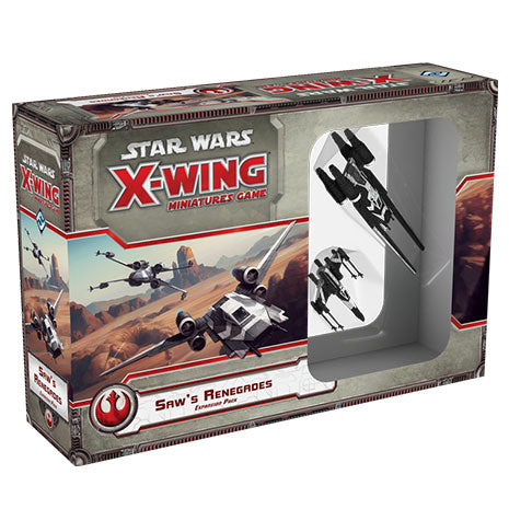Star Wars X-Wing. Renegados de Saw