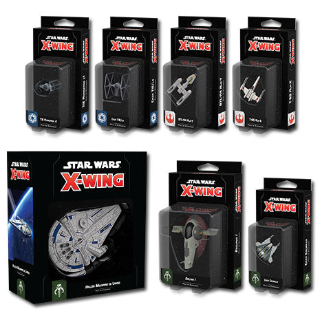 Pack Wave 1. Star Wars X-Wing Segunda Edición