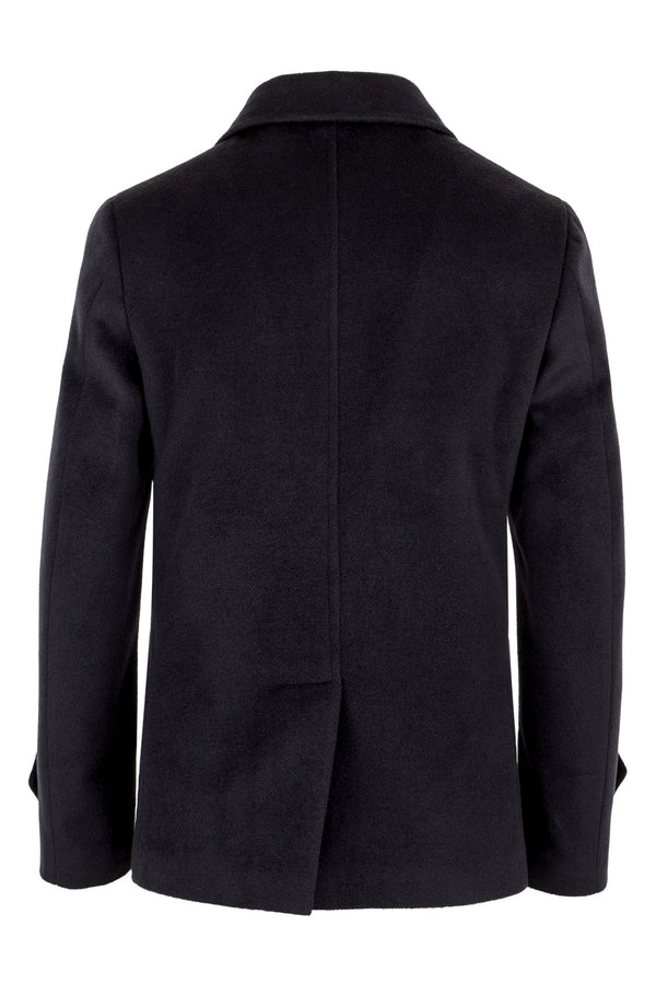 Wool & Cashmere Blend Peacoat