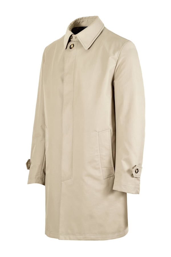 MONTEZEMOLO Men's Clothing - Outerwear - Singlebreasted Raincoat - www.montezemolostore.com