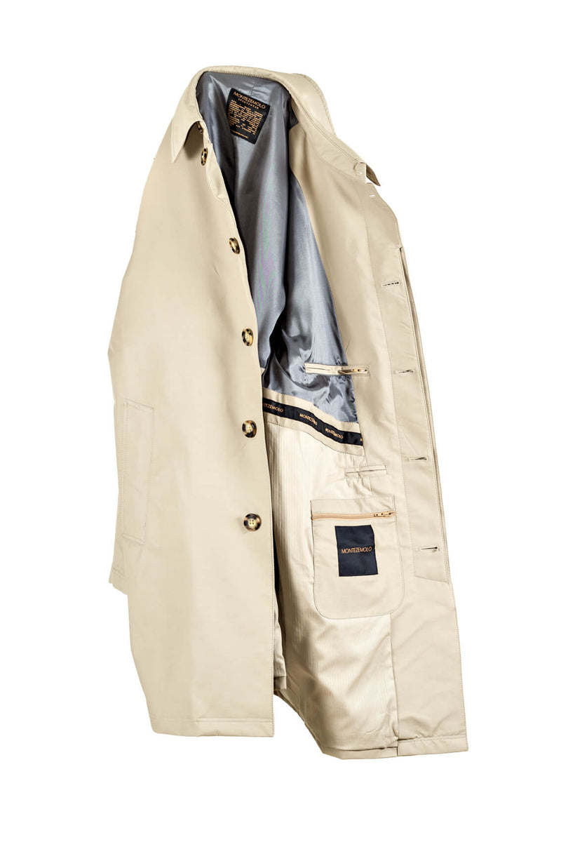 Singlebreasted Raincoat