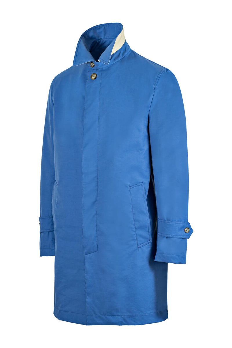 Singlebreasted Unlined Raincoat
