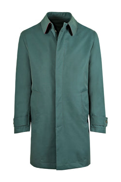 MONTEZEMOLO Men's Clothing - Outerwear - Singlebreasted Unlined Raincoat - www.montezemolostore.com