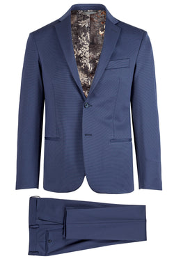 MONTEZEMOLO Men's Clothing - Suits - Jacquard Techno-Fabric Suit - www.montezemolostore.com