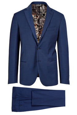 MONTEZEMOLO - Suits - Jacquard Techno-Fabric Suit - MONTEZEMOLO